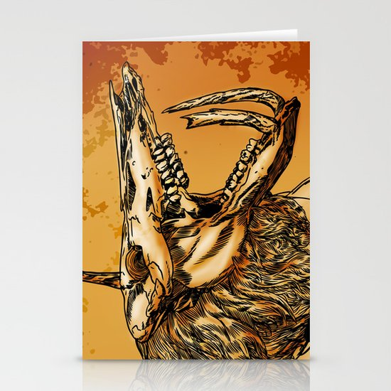 GOLD BEAST Stationery Cards