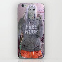 FREE HUGS iPhone Skin