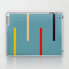 Abstract Classic Stripes Mirian Laptop & iPad Skin