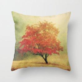 Moods of Autumn Throw Pillow