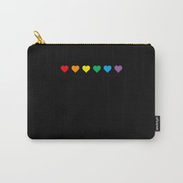 Gay Hearts 2 Carry-All Pouch