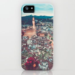 Dahlia Giants in Florence iPhone Case