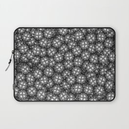 Poker chips B&W / 3D render of thousands of poker chips Laptop Sleeve
