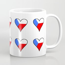 flag of Czech 4 -Czechia,Česko,Bohemia,Moravia, Silesia,Prague. Coffee Mug