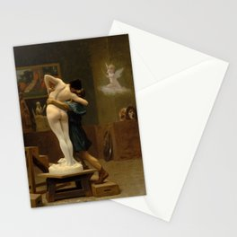 Pygmalion and Galatea by Jean-Leon Gerome Stationery Cards