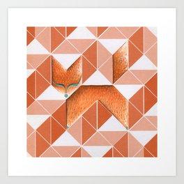 I Saw A Fox Art Print