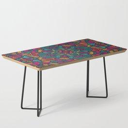 Colorful Mandala Pattern 013 Coffee Table