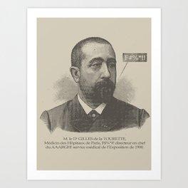 Gilles Art Print
