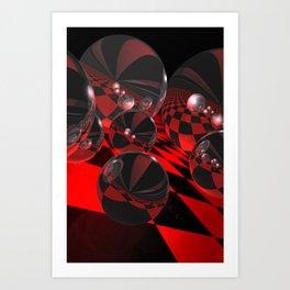 uphill downhill -1- Kunstdrucke