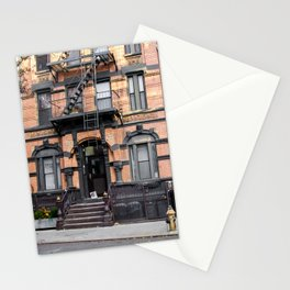 East Village. New York. USA Stationery Cards