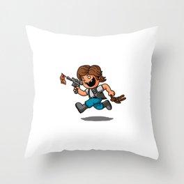 little scoundrel Throw Pillow