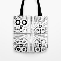 matrix Tote Bags featuring Matrix  by Amanda Chapdelaine