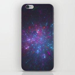 Lazy Galactic Fireworks iPhone Skin