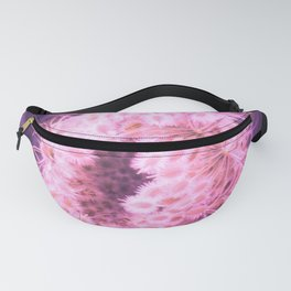 Pink Closing Queen Anne's Lace Fanny Pack