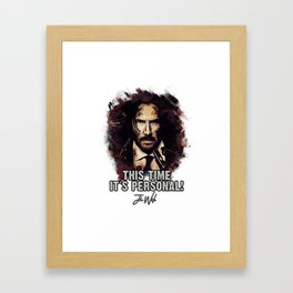 It`s Personal - Wick Framed Art Print