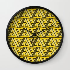 Impossible Trinity Wall Clock