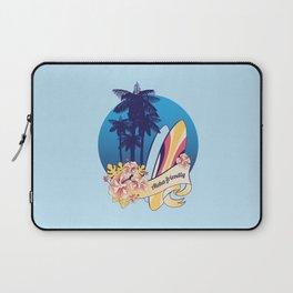 Aloha-friendly surf, summer, beach Laptop Sleeve