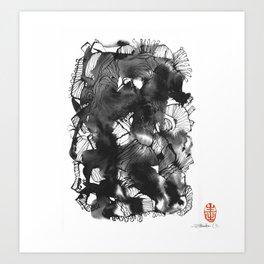 Black art Art Print