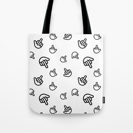 Minimal Finger Tote Bag