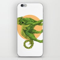 sith iPhone & iPod Skins featuring Wolfhound Cu-Sith by AlliePets