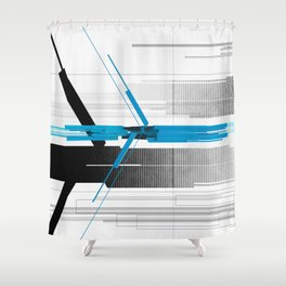 Indo Shower Curtain