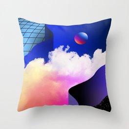 SILENT\...FFFRACTURED.../STØRM Throw Pillow