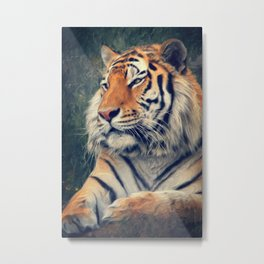 Tiger No 3 Metal Print
