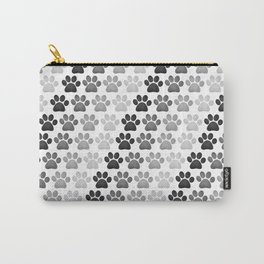 Paw Prints Pattern Carry-All Pouch