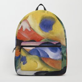 Franz Marc - Yellow Cow Backpack