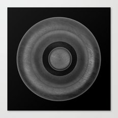 Demi-Stock Black Piece 2 Canvas Print