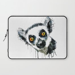 Lemur Head Laptop Sleeve