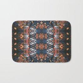 Autumnal mosaic Bath Mat
