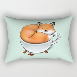 Foxuccino Rectangular Pillow