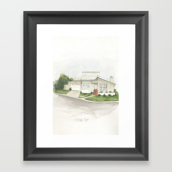 1 Framed Art Print