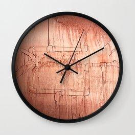 Conduit Wall Clock