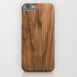 Lyrical Wood iPhone Case