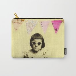 """Partially Amused"" Carry-All Pouch"