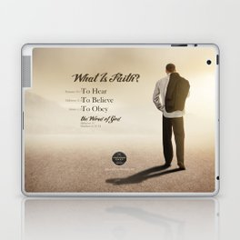 What Is Faith? Laptop & iPad Skin