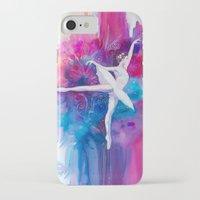 ballerina iPhone & iPod Cases featuring Ballerina by Slaveika Aladjova