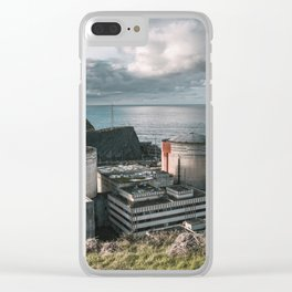 Nuclear Power Plant Clear iPhone Case