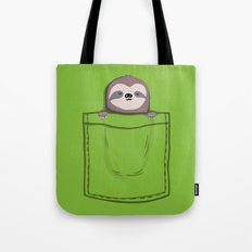 My Sleepy Pet Tote Bag