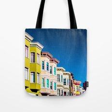 Colorful San Francisco 3 Tote Bag