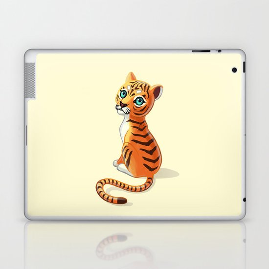 Tiger Cub Laptop & iPad Skin