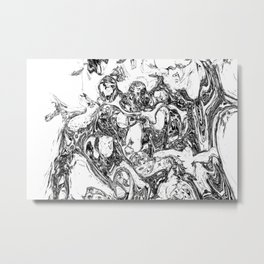 splashland hom Metal Print