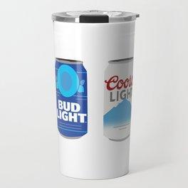 Beer Cans Travel Mug