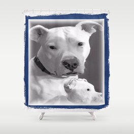 dAY dAY Shower Curtain