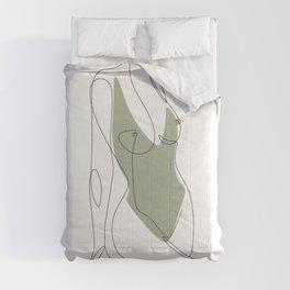 Matcha Nude Comforters