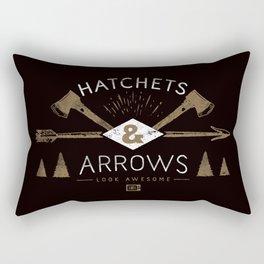 Hatchets & Arrows Rectangular Pillow