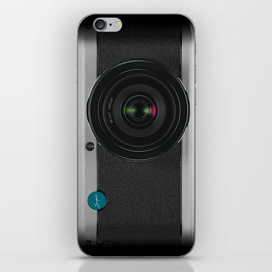 Vintage Camera iPhone Skin