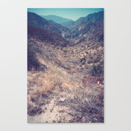 Into Angeles National Forest Canvas Print